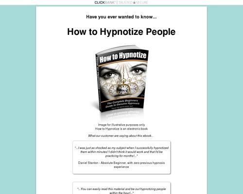 How to Hypnotize People - Glo-b.com